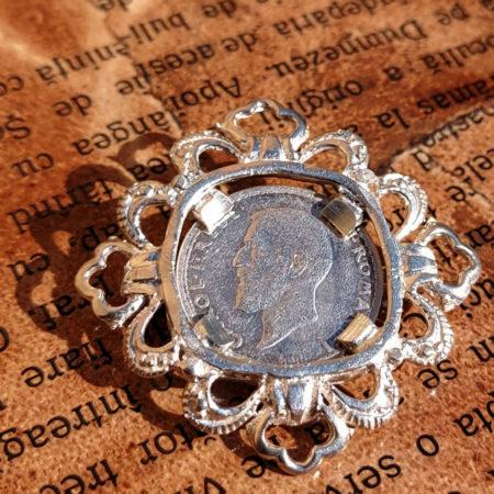 Broșă din Argint modelul 1 - bijuterii din argint Salba Mariei