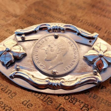 Broșă din Argint modelul 2 - bijuterii din argint Salba Mariei