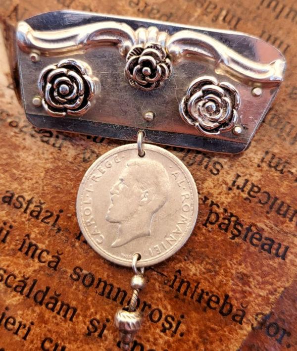 Broșă din Argint modelul 3 - bijuterii din argint Salba Mariei