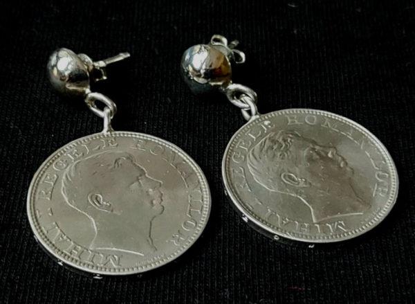 """Cerceii """"4"""" - bijuterii din argint Salba Mariei"""