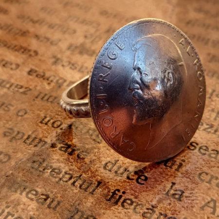 Inelul Belșugului - bijuterii din argint Salba Mariei