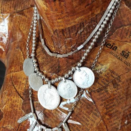 Salba Străbunilor - bijuterii Salba Mariei din argint
